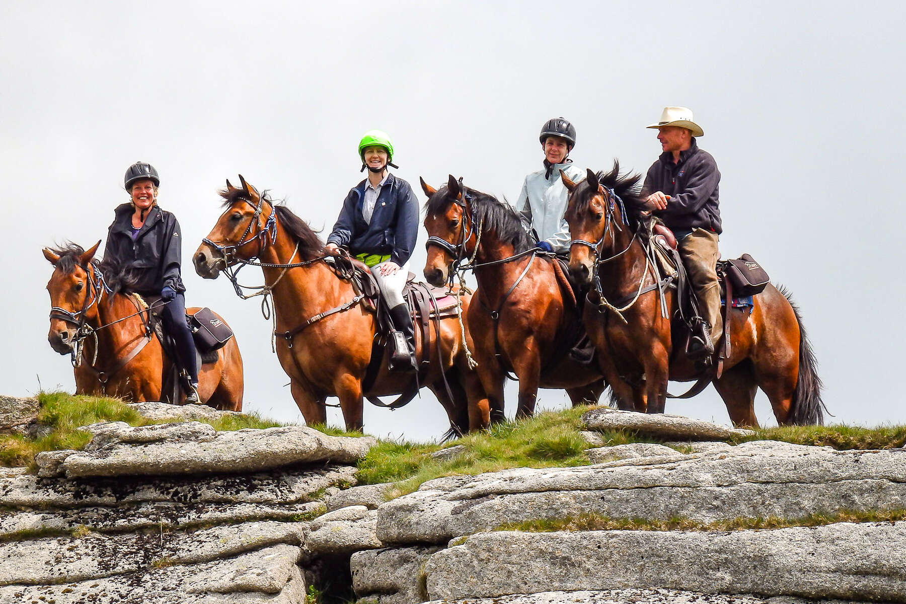 Dartmoor trail riding holiday