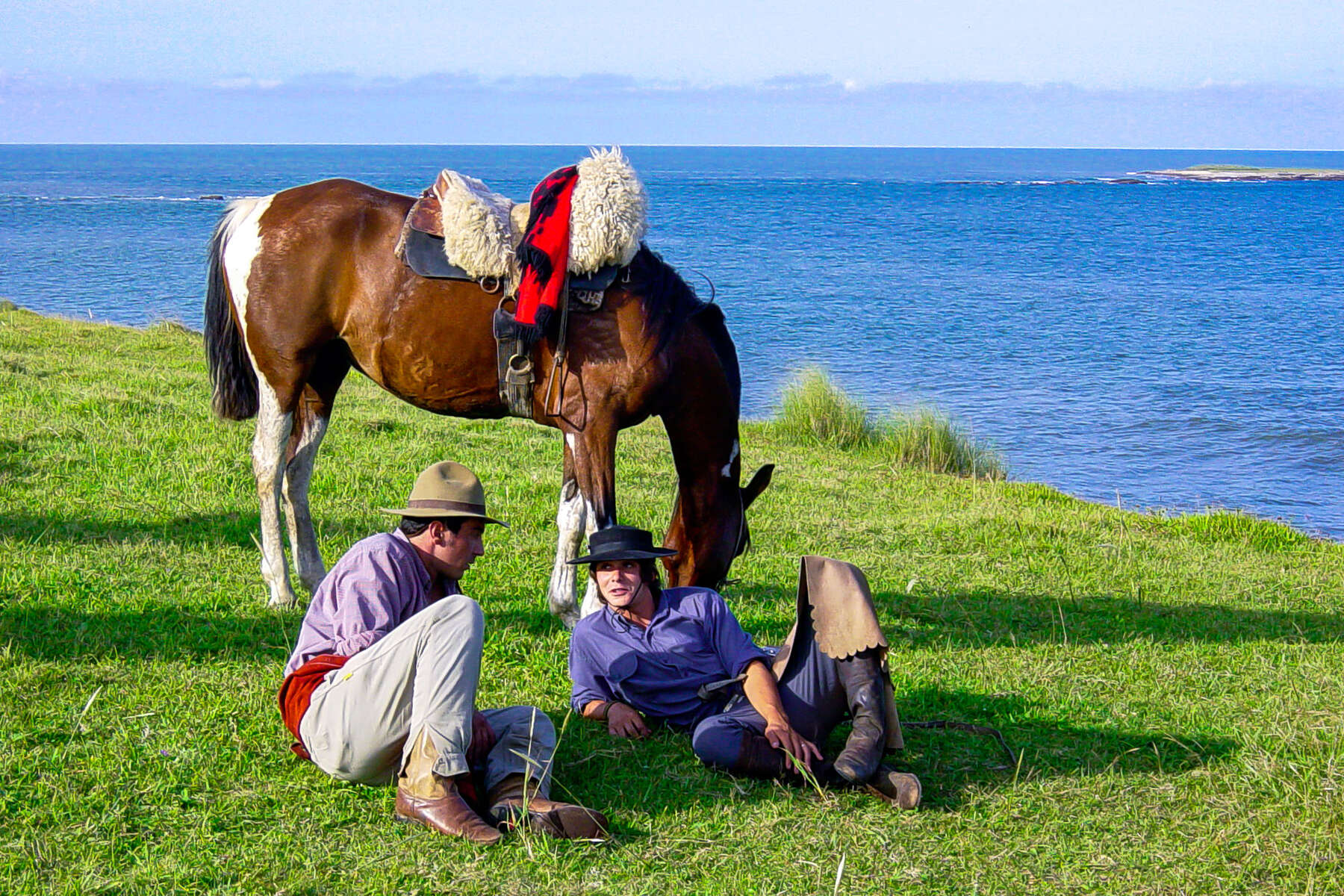 Trail ride through South America on horseback