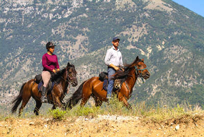 Guide from Caravan Travel riding holidays