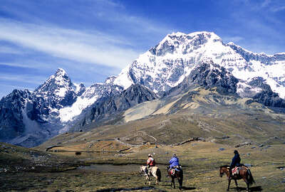 Horse riding expedition to the Sacred Valley Peru