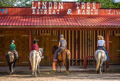 Linden Tree Ranch and riding holidays, in Croatia