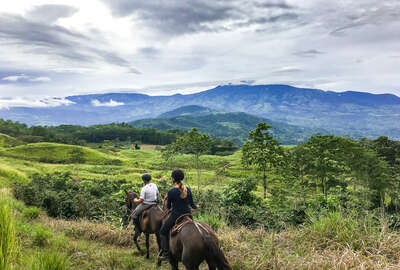 Riders riding in Costa Rica