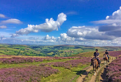 Short riding holiday in Wales, Brecon Beacons