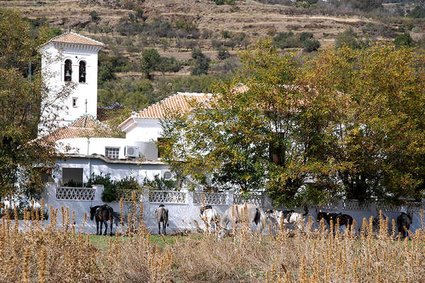Alpujarras white villages in Andalusia