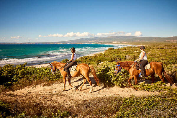 An equestrian adventure in the beaches and mountains of Sardinia