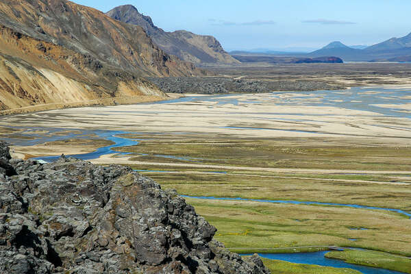 Beautiful icelandic landscape in the golden circle