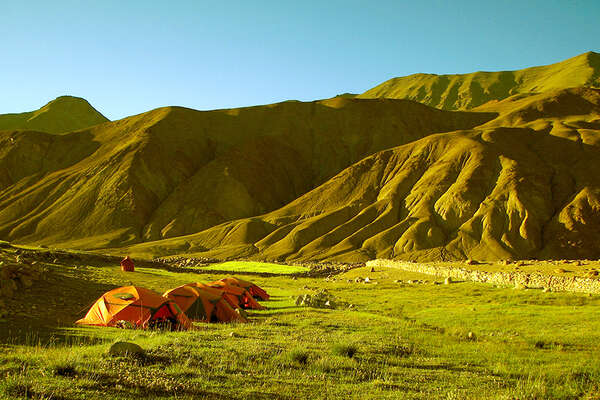Camping expedition on horseback  Ladakh, Little Tibet