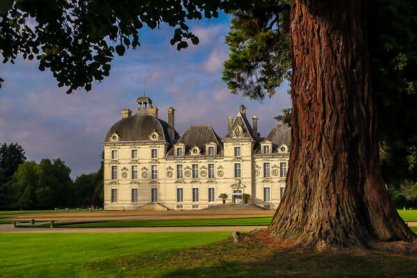 Cheverny castle in the Loire Valley, western France