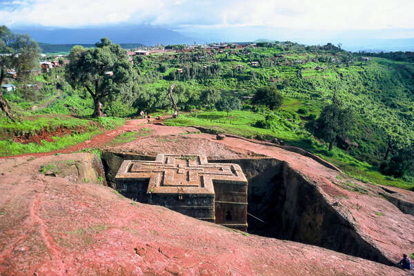 Church of St. George in Lalibela, Ethiopia