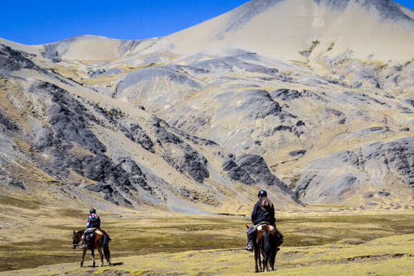Discover the high Inca Trail on horseback