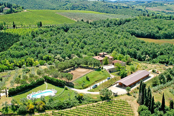 Equestrian Center in tuscany