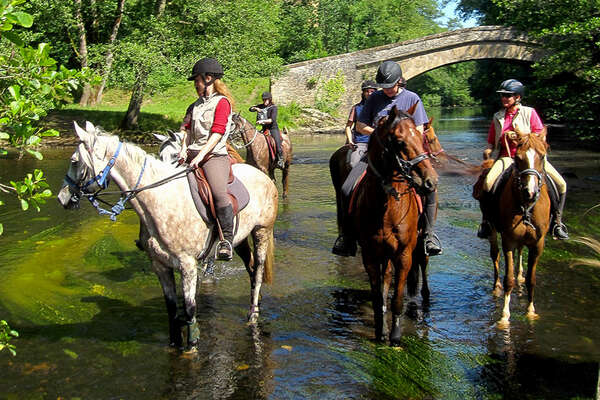 Exhilerating trail riding in Morvan National Park