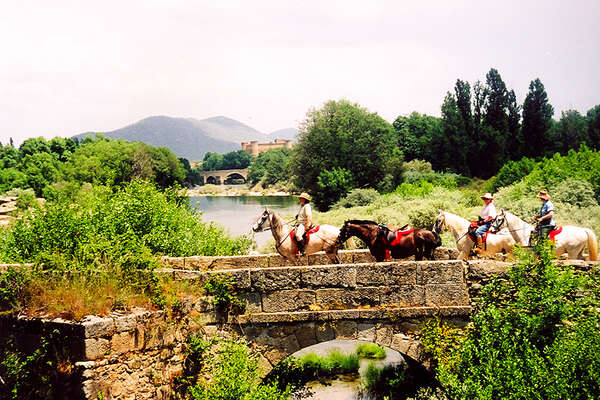 Gredos Mountains on horseback in Spain