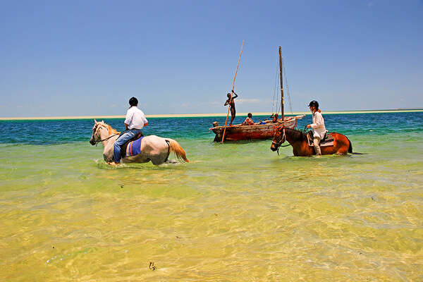 Horse riding holiday in Mozambique