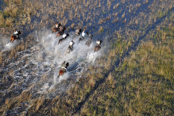 Horse riding safari in Kenya and Botswana