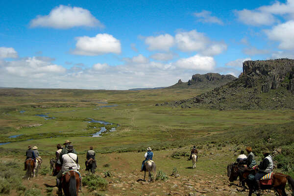 Horseback riding holidays in Ethiopia
