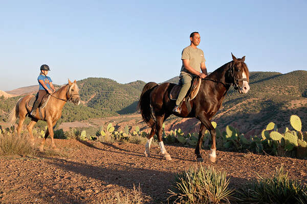 Horseriding holiday in Morocco for families