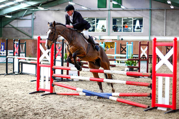 Jumping course in Ireland at Castle Leslie