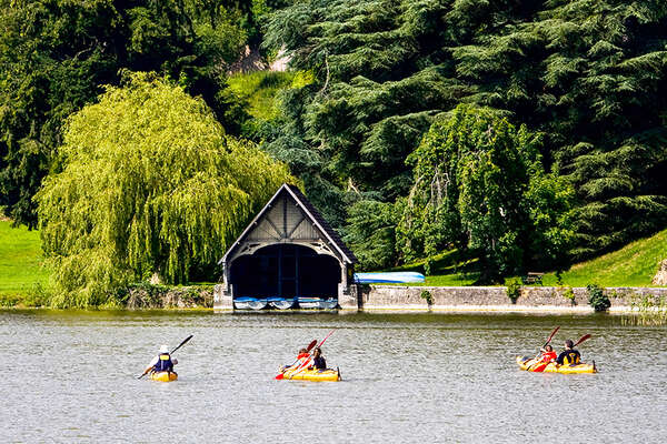 Kayaking at Castle Leslie