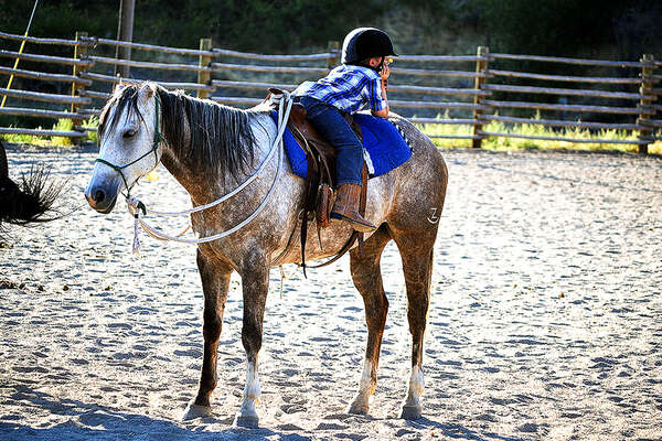 Parelli natural horsemanship guest ranch in Montana