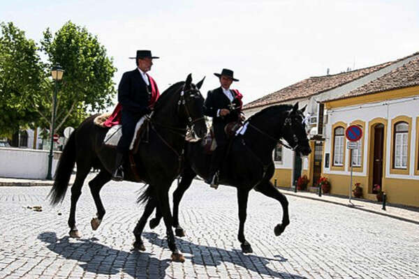 Portugal and Golega Fair on horseback