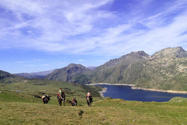 Riders in the Pyrenees