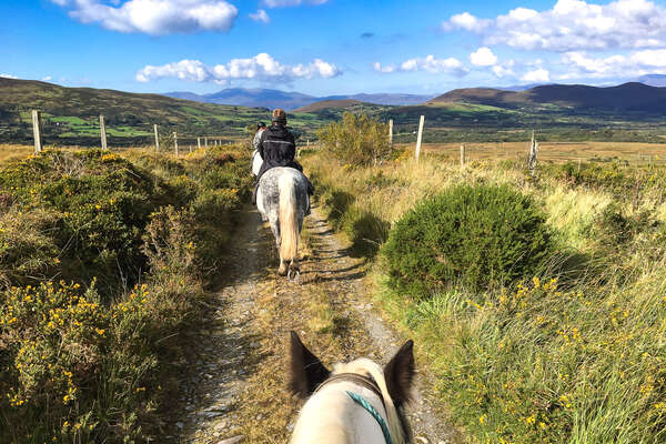 Riding holiday in Ireland