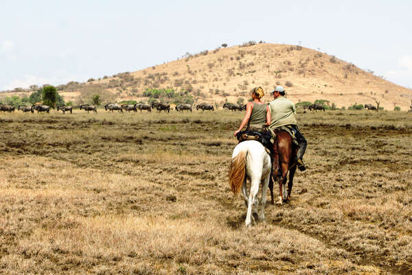 Riding holiday in Tanzania