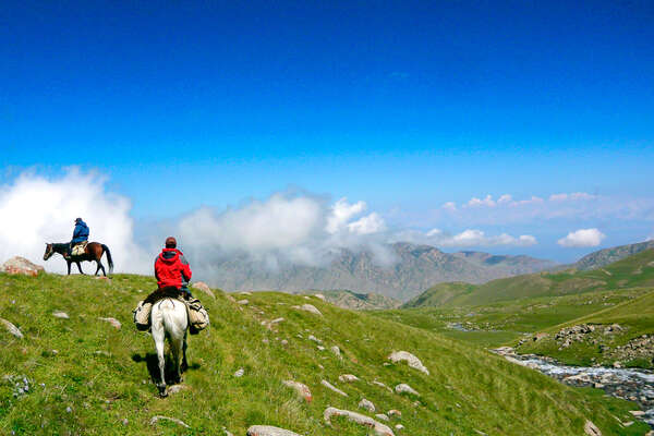 Riding holiday in the Tien Shan mountains