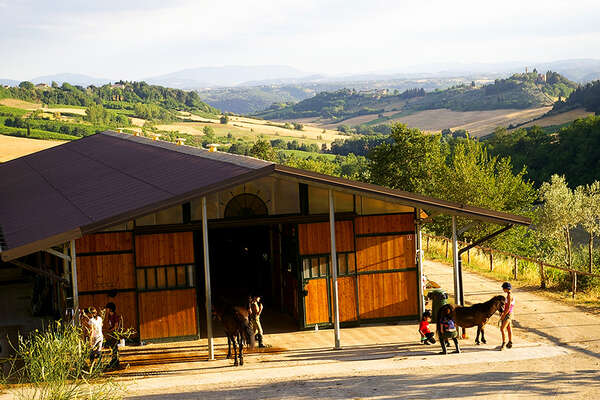 Riding holiday in Tuscany
