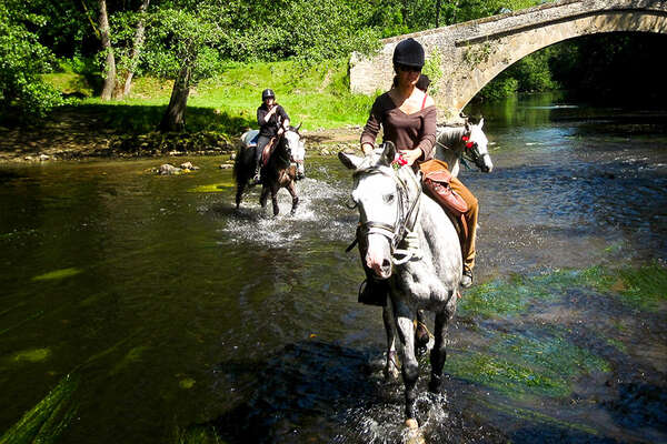 Riding in Morvan National Park