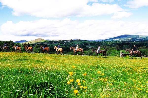 Riding in the Kerry, Ireland