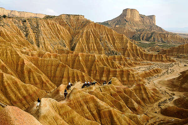Rock Hoodoos formations in Spain