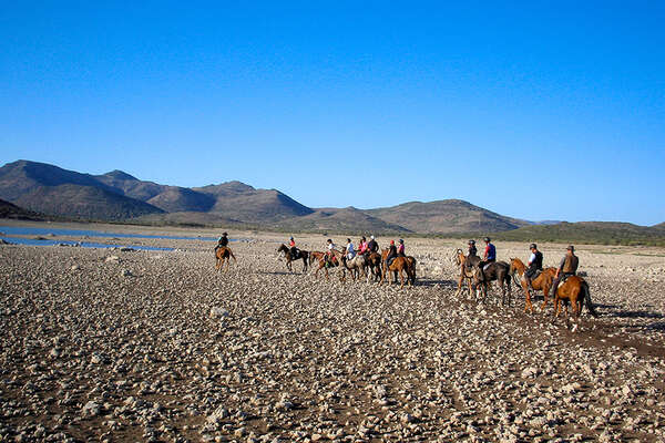 Sardinia horseback trail ride