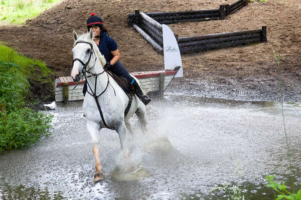 Water combination and cross country jumping in Ireland