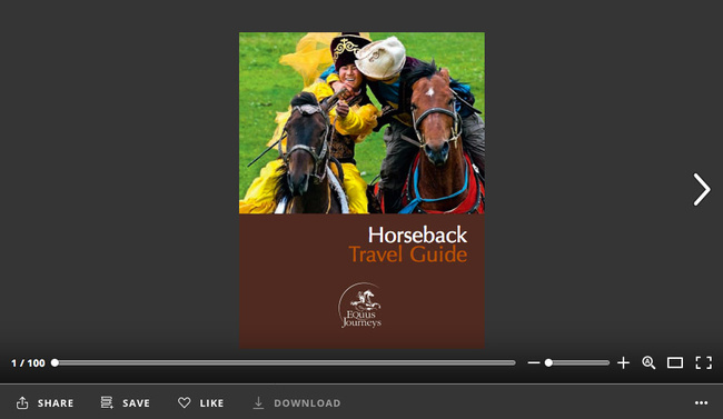 Horseback Travel Guide @Equus Journeys